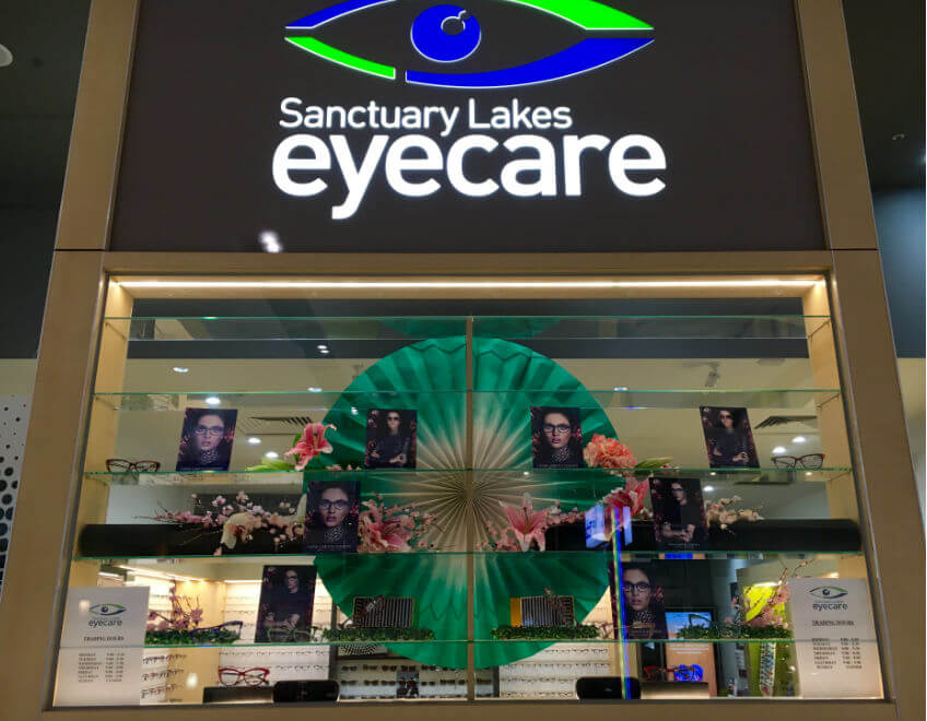 sl eyecare Jono window